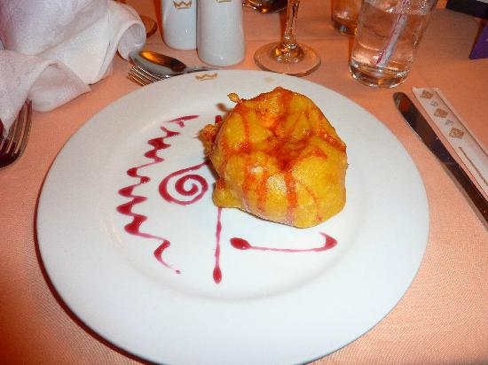 Riu Playacar: Fried ice cream