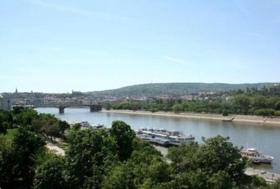 Anadin Hostel: The river Danube behind the hostel