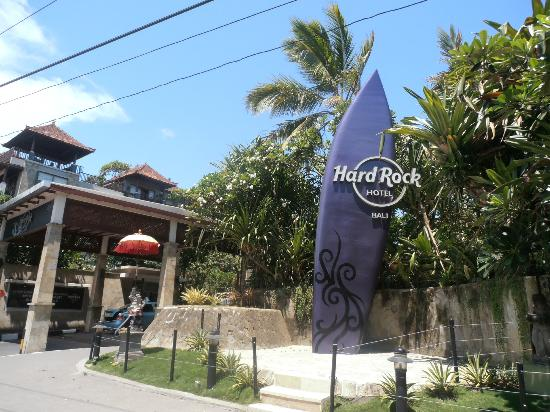 Entrance Picture Of Hard Rock Hotel Bali Kuta Tripadvisor