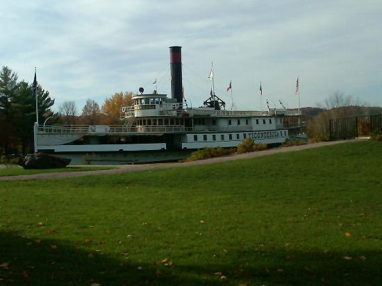 Lake Champlain Steamboat at Shelburne Museum