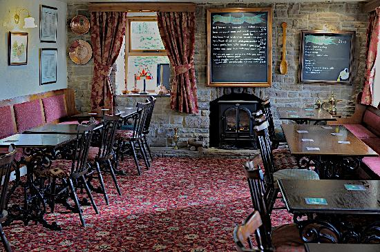 Chelmorton, UK: Dinning area