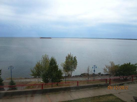 Fitger&#39;s Inn: Lake Superior from our room
