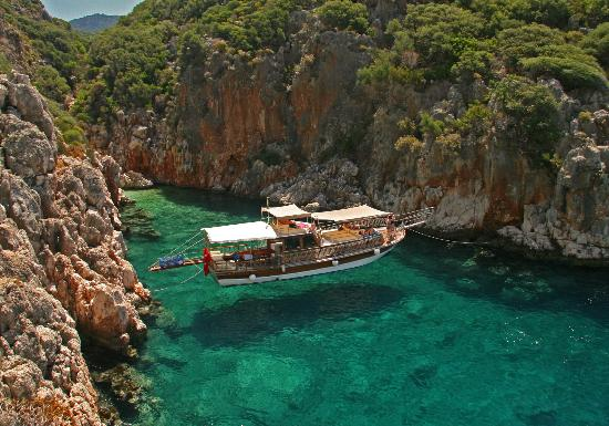 batin boat tours kas turkey address phone number
