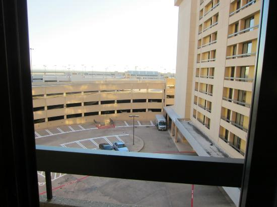 Hyatt Regency DFW: View from window