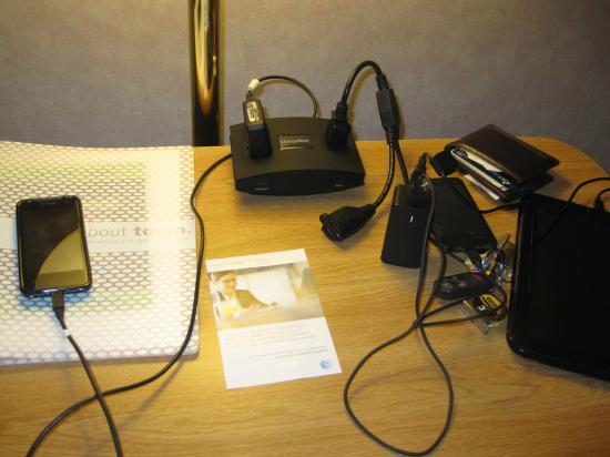 Hampton Inn Bakersfield - Central: Charge station