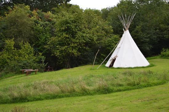 Camp Cynrig Tipi Village