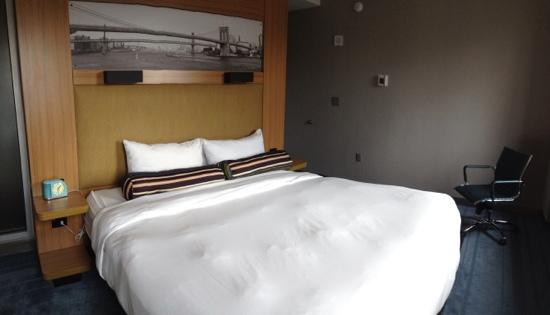 aloft New York Brooklyn: Smart layout, good use of space