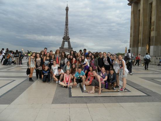 Me And Friends Picture Of Eiffel Tower Paris TripAdvisor