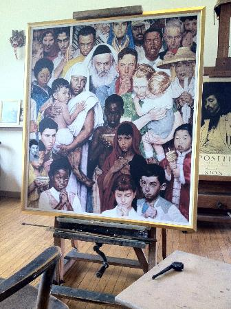 """a written assignment on norman rockwell museum at stockbridge Rockwell's stockbridge studio, moved to the museum site, is open to  of the  most popular museums in the world,"""" wrote author paul johnson,."""