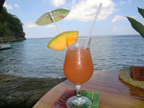 Anse Chastanet: Time for refreshment