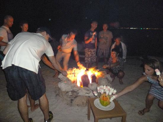 The Beloved Hotel: Toasting marsmallows on the beach