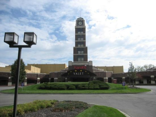 Harrah's North Kansas City: Outside view to Casino entrance