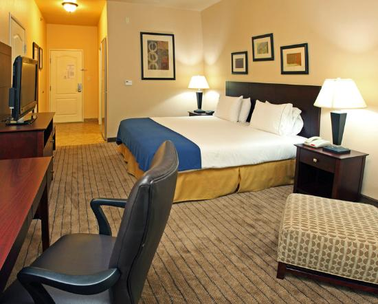 Holiday Inn Express Hotel &amp; Suites Marshall: King Bed Guest Room