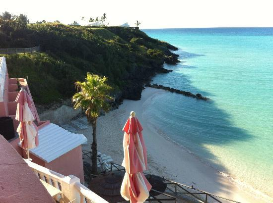 Pompano Beach Club: beach from deck