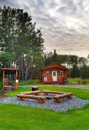 Kasilof, AK: Enjoy time around our fire pit