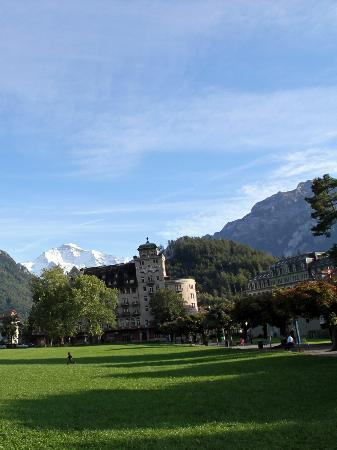 Swiss Inn Hotel &amp; Apartments: View of the Jungfrau.