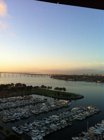 San Diego Marriott Marquis & Marina: View from our Room of Coronado Island