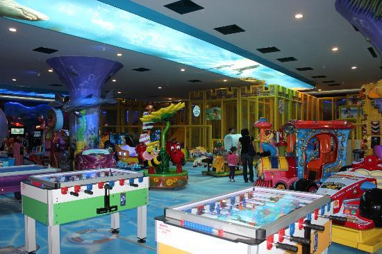 Antalya Aquarium: playland