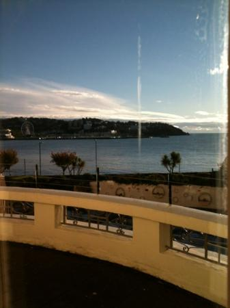 The Grand Hotel: view from room 114 04/11/12 (2)