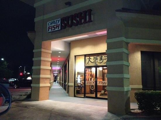 Crazy fish sushi ocoee restaurant reviews phone number for Crazy fish restaurant