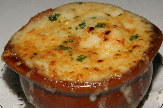 French Onion Soup (Au Gratin) - Picture of Barberian's Steak House ...