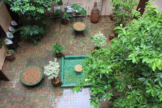 Riad Massiba: marrakech -patio 2