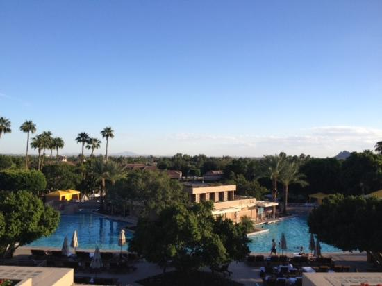 The Phoenician, Scottsdale: View form hotel lobby bar