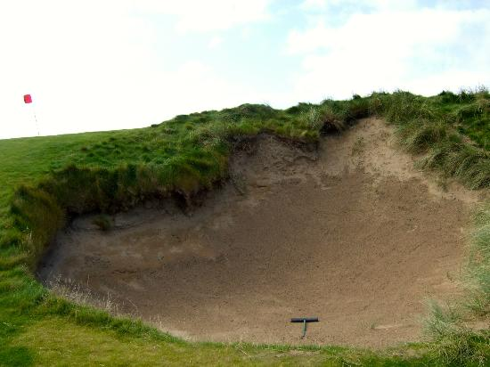 Doonbeg Lodge: Nasty bunker