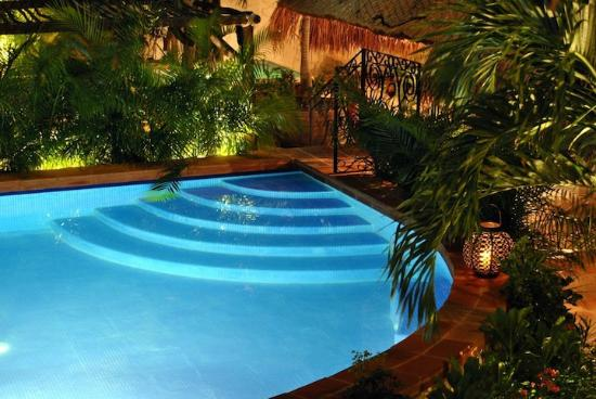 La Pasion Hotel Boutique: MAGIA DE NOCHE