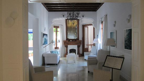 Hotel Medium Sitges Park: Reception area
