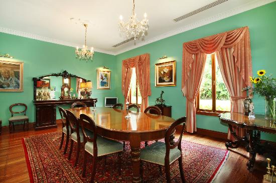 Whitfield House: The Dining Room