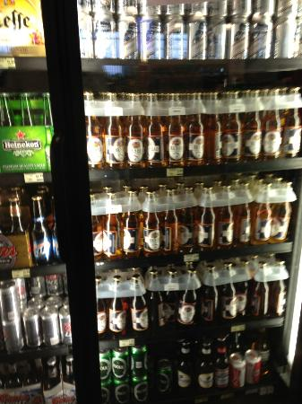 Seven Stars Resort: beer selection at grocery store