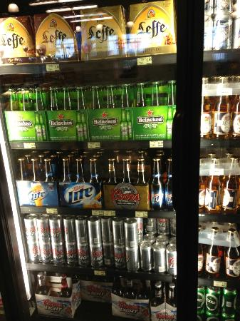 Seven Stars Resort: beer selection at grocery