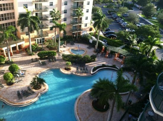 Wyndham Palm-Aire: Beautiful pool area