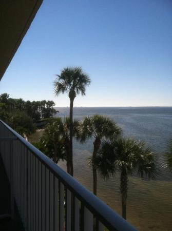 BEST WESTERN Bay Harbor Hotel: From the Fourth Floor Balcony