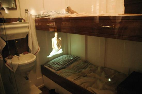 Projection 1st Class Cabin Replica Picture Of Titanic