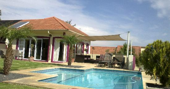 Pink Rose Guesthouse & Spa - Gay resort: The Terrace overlooking the pool area
