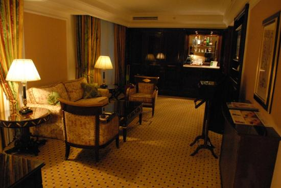 Ritz Carlton: Le salon de la suite