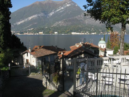 View of Lake Como from Hotel Silvio