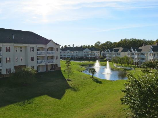 Wyndham Governor's Green: View from our third story balcony