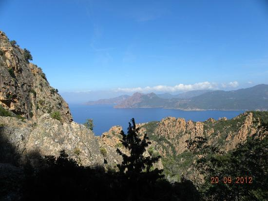 Capo Rosso: Vue sur les calanche