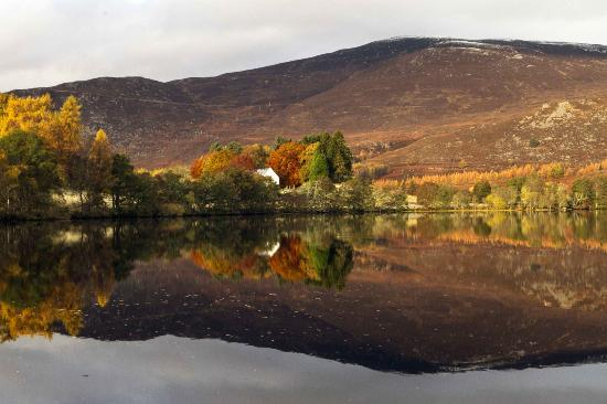 Rowan Tree Country Hotel: Loch Alvie - 2 minutes walk