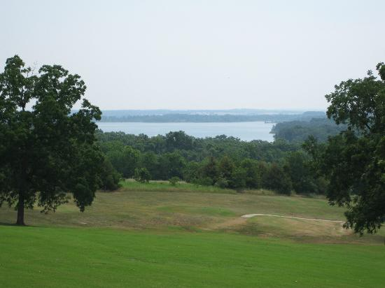 Stockton Golf Course Over Looking The Lake