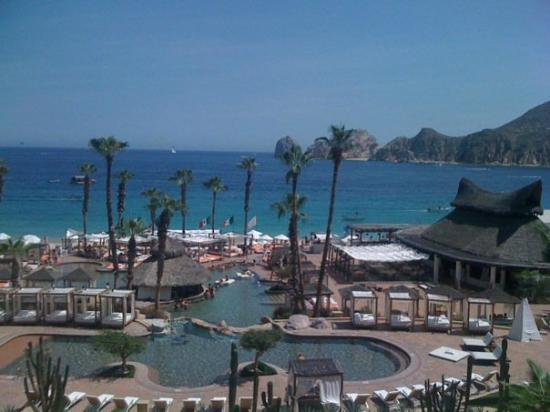 ME Cabo: View from our room in the middle section of the hotel.
