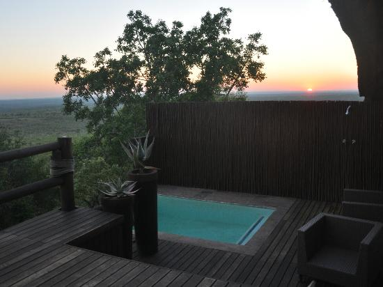 Ulusaba Rock Lodge: View from my room at rock lodge
