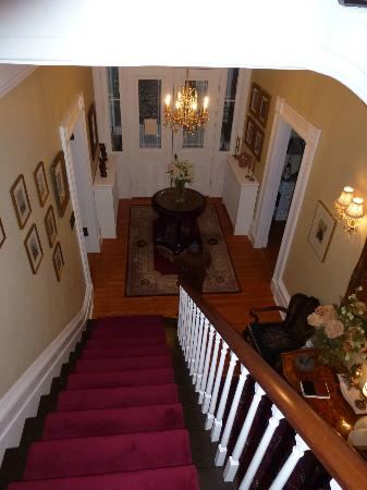 Osler House: Soft carpeted stairs