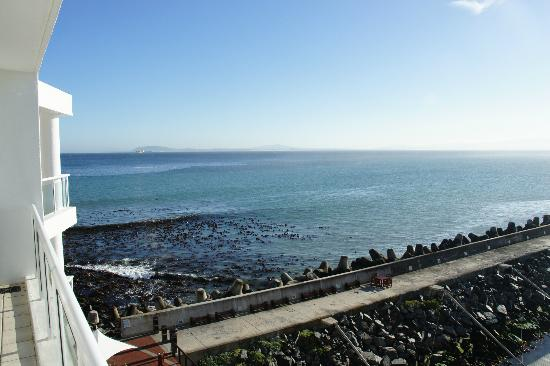 Radisson Blu Hotel Waterfront, Cape Town: View from balcony
