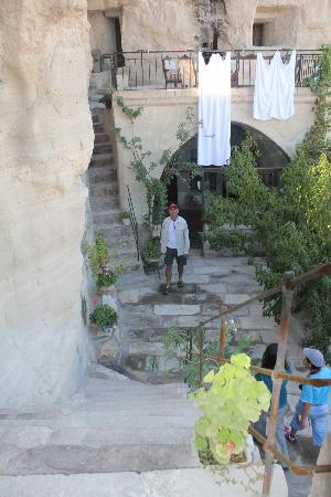 Emily's Cave House: main area of the hotel