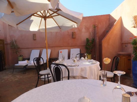 Riad Al Badia: Roof top terrace