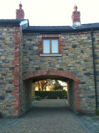Decoy Country Cottages: Entrance